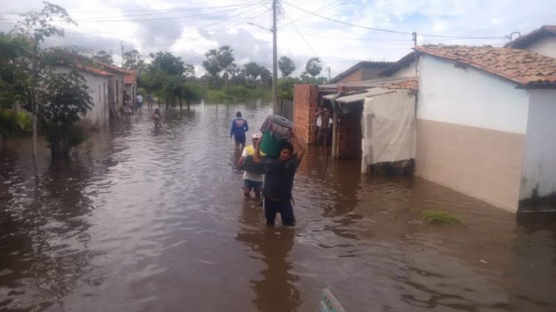 Situação ainda é de alerta no município de Campo Maior
