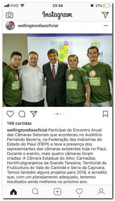 Vice-prefeito reivindica melhorias para o município de Inhuma