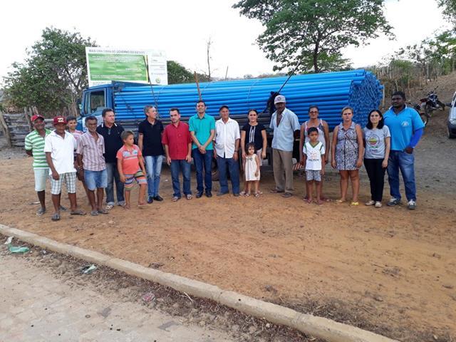 Município de Pimenteiras é beneficiado com  sistema de irrigação