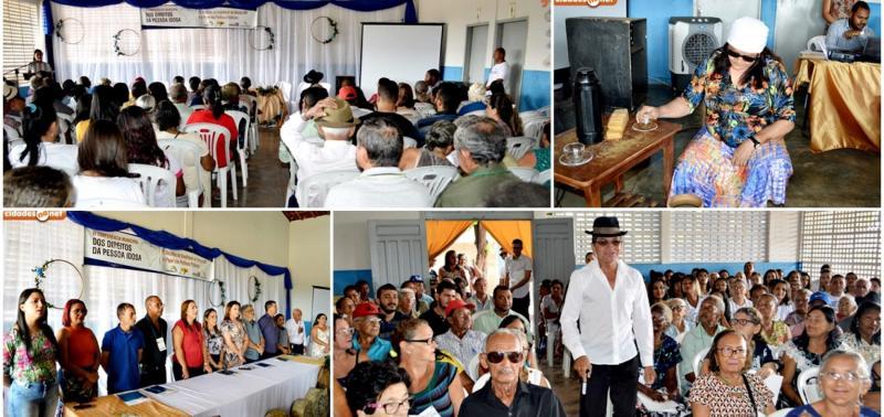 Conferência Municipal dos Direitos da Pessoa Idosa é realizada em Inhuma