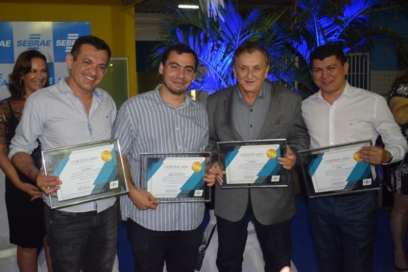 Luzilândia  recebe certificado por ofertas de cursos do SEBRAE