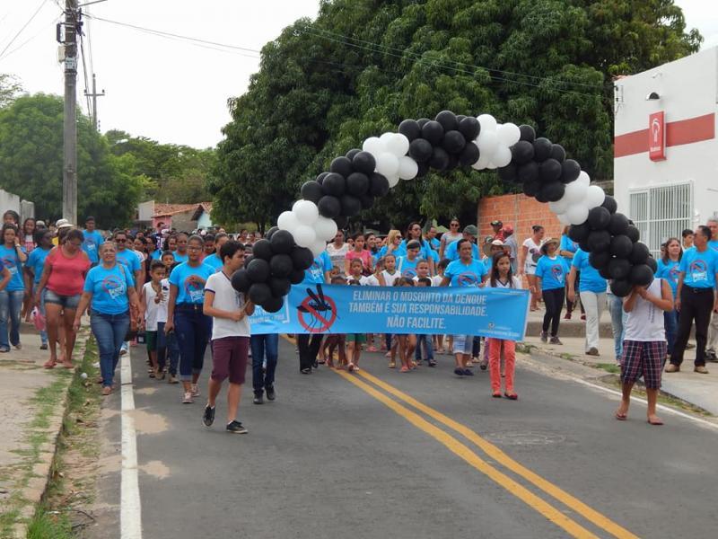 Campanha de combate ao mosquito da dengue em Monsenhor Gil