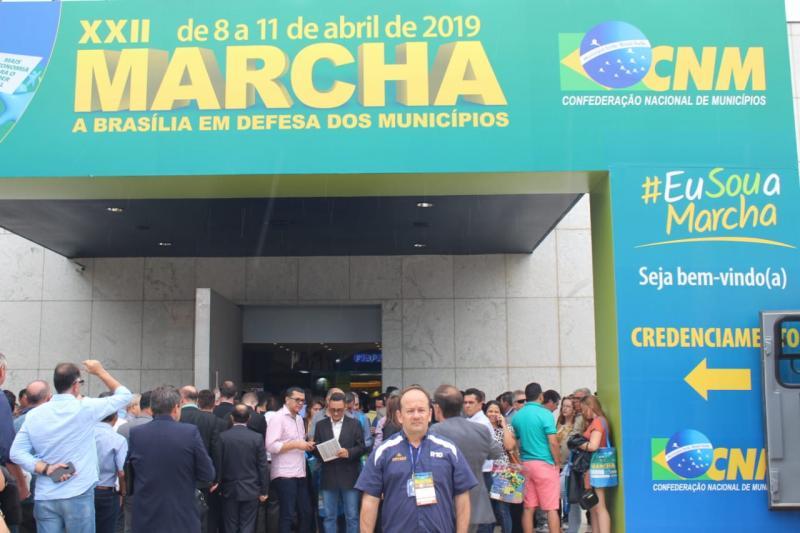 Portal R10 acompanha XXII Marcha a Brasília em Defesa dos Municípios