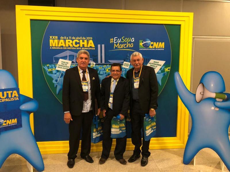 Prefeito Genival Bezerra está em Brasília para participar da XXII Marcha do