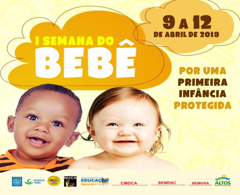 Prefeitura de Altos realiza Semana do Bebê nesta terça