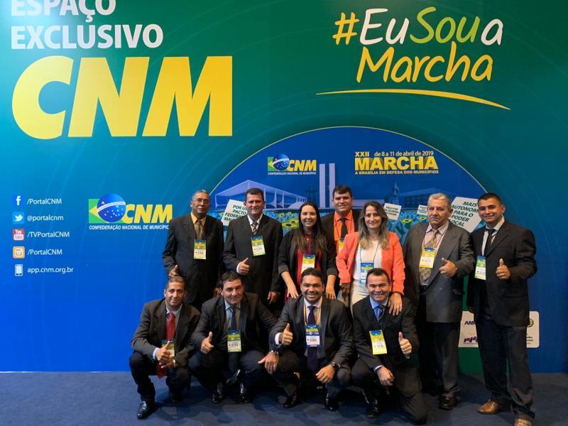 Autoridades do Maranhão participam da Marcha em Defesa dos Municípios