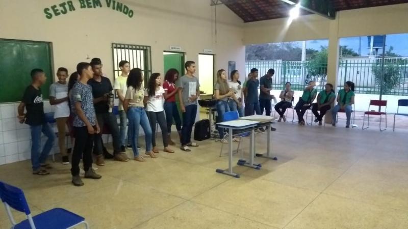 Alunos da rede estadual de Olho D'água realizam projeto sobre o ECA