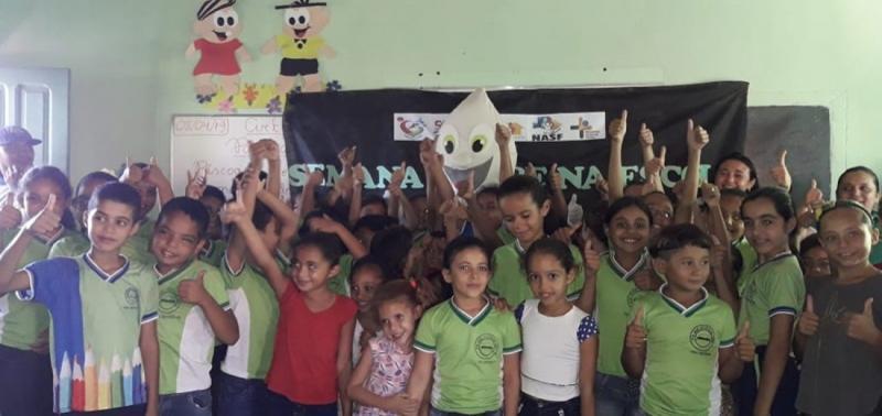 Realizada semana 'Saúde na Escola' e a importância da imunização