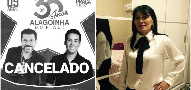 Prefeitura de Alagoinha do Piauí cancela festa do aniversário da cidade