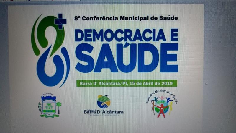 8ª Conferencia   Municipal  de Saúde em Barra D'Alcântara