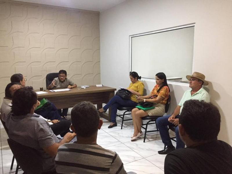 Capitão de Campos: Prefeito reúne equipe e avalia estragos das chuvas