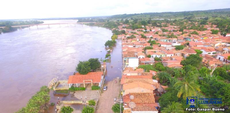 Famílias afetadas pelas cheias em Luzilândia sobre para 261