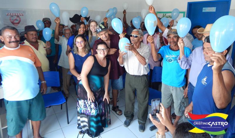 Secretaria de Saúde de Cristino Castro realizou palestra sobre Novembro Azul