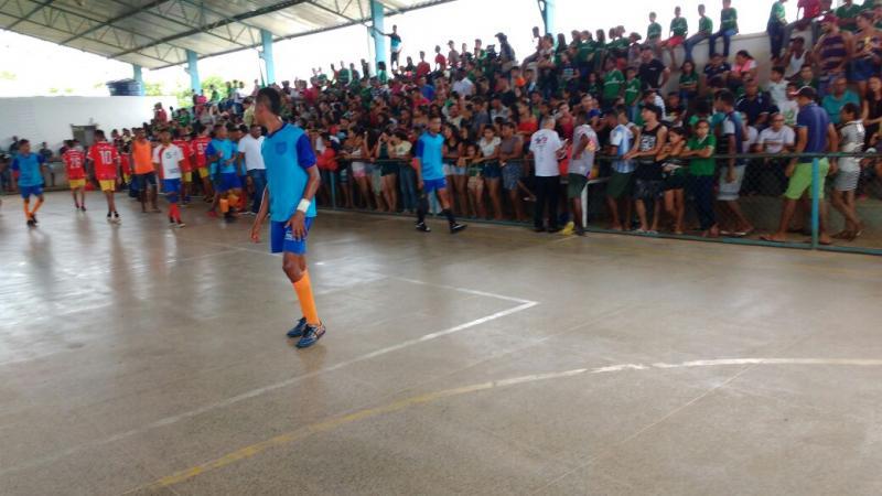 Campeonato de futsal movimenta município de Regeneração