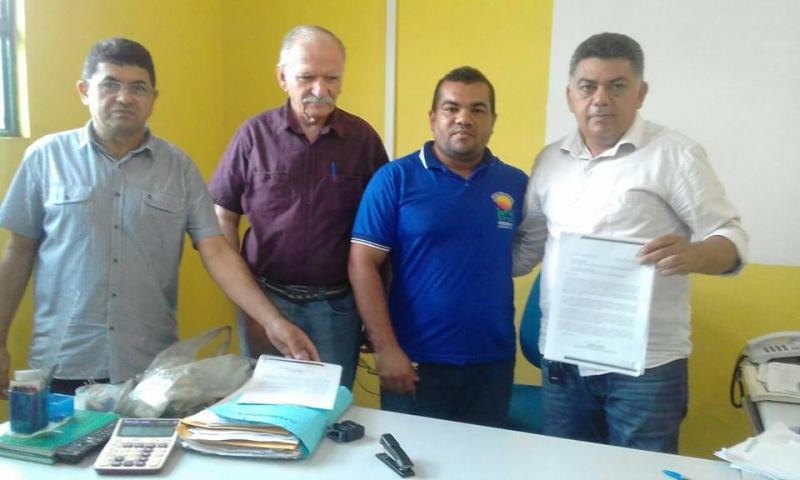 Representantes do Conselho do Território Entre Rios visita Agricolândia e firma parcerias