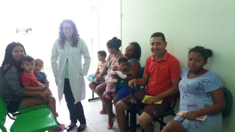 Secretaria de saúde inicia campanha de vacinação contra a Gripe