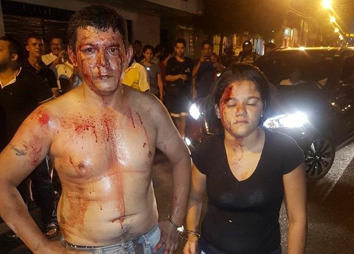 Vítima reage a assalto e toma arma de bandido na Capital