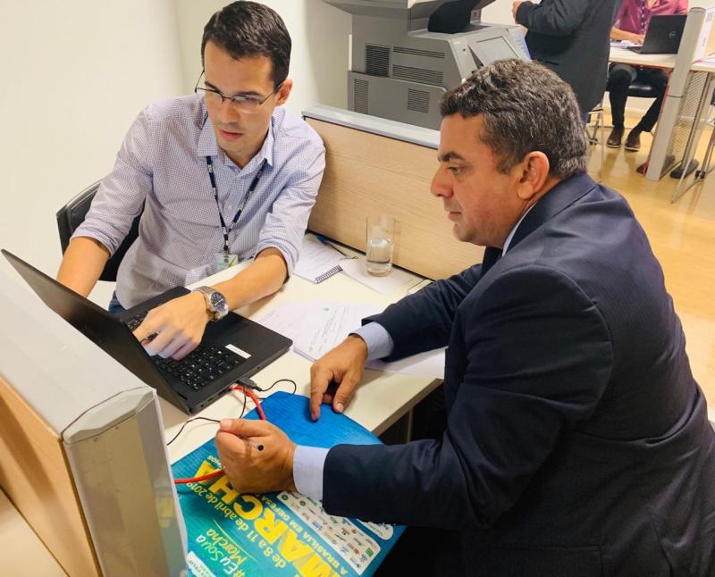 Ribinha cumpre agenda em Brasília para agilizar a conclusão de obras