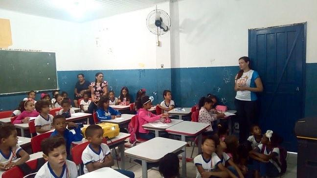 Nasf  leva temática 'Aprendendo com as diferenças' para alunos de escola