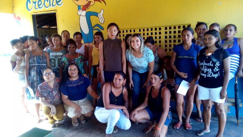 Equipe técnica do CRAS realiza reunião sobre Bolsa Família em Olho D'água