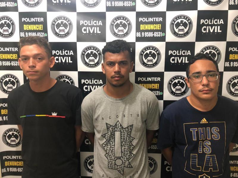 'Operação Contra-ataque' prende acusados de roubar carros em Teresina