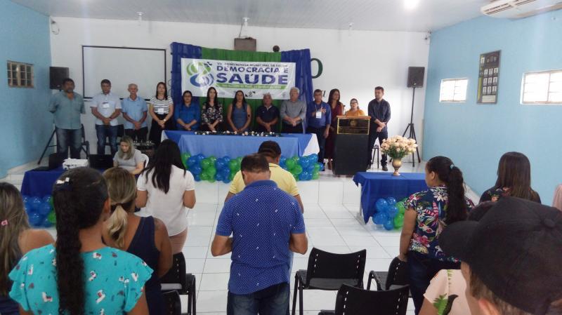 VII Conferência Municipal de Saúde é realizada em São Gonçalo do Piauí