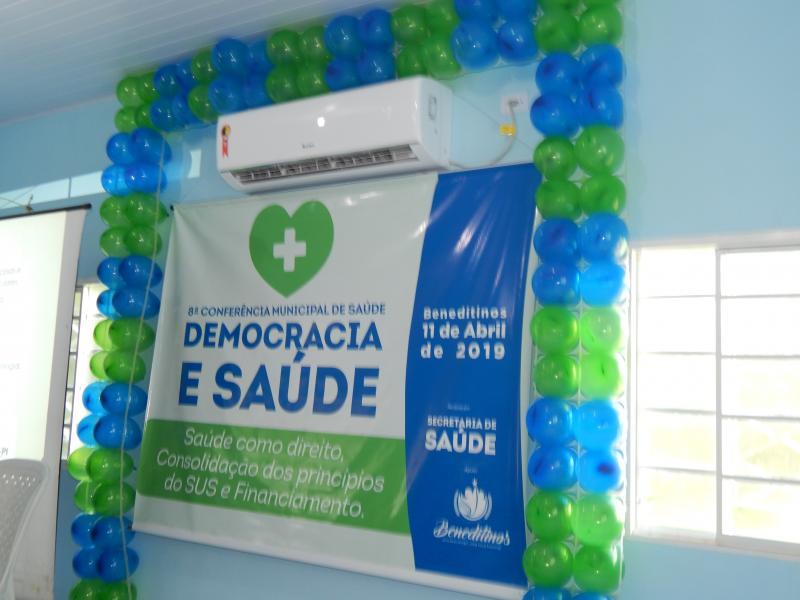 Secretaria Municipal de Saúde realiza 8ª Conferencia