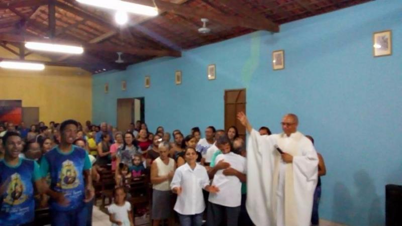 A Comunidade Católica do bairro Cidade Nova em Demerval Lobão (PI) está em Festejo