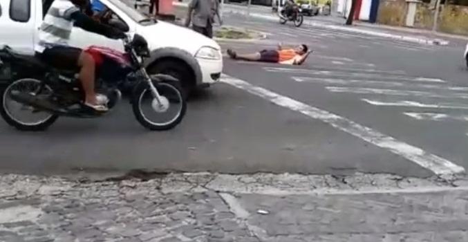 Teresinense ameaça se matar caso Vasco ganhe do Flamengo; vídeo