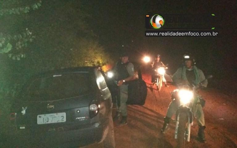 Suspeitos de assalto em Cabeceiras trocam tiros com a PM em José de Freitas
