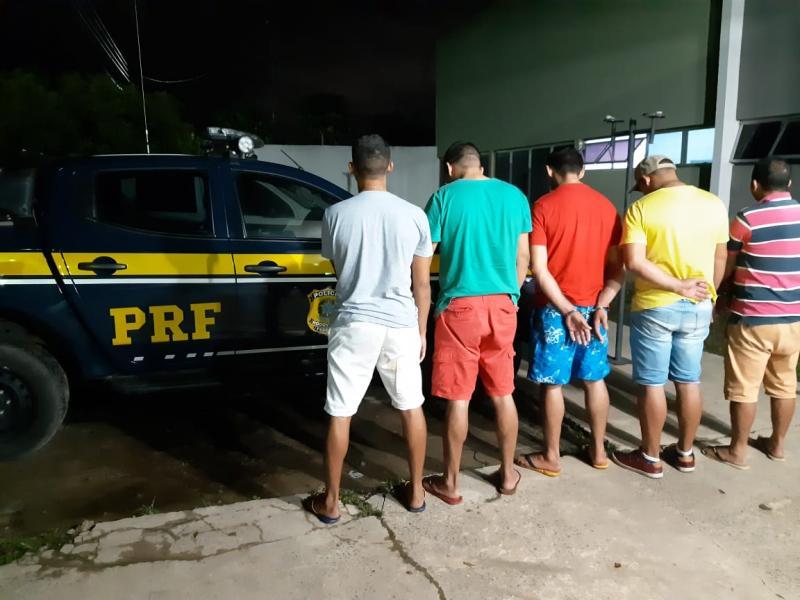Grupo especializado em roubo a malotes bancários é preso no PI