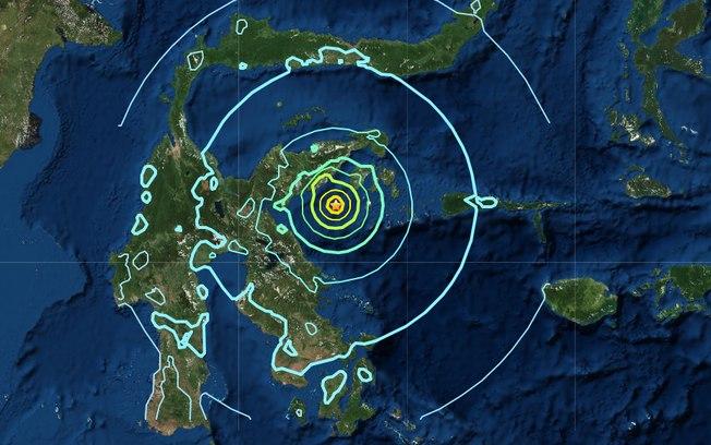 Indonésia é atingida por terremoto de 6,8 graus na escala Richter