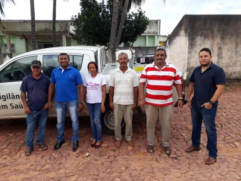 Carro fumacê irá ajudar no combate a dengue em Cristino Castro