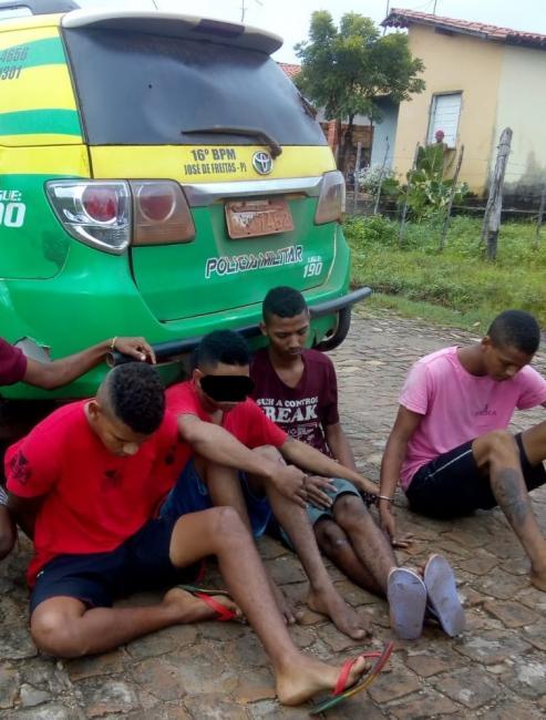 Acusados de assalto em Cabeceiras são presos em José de Freitas