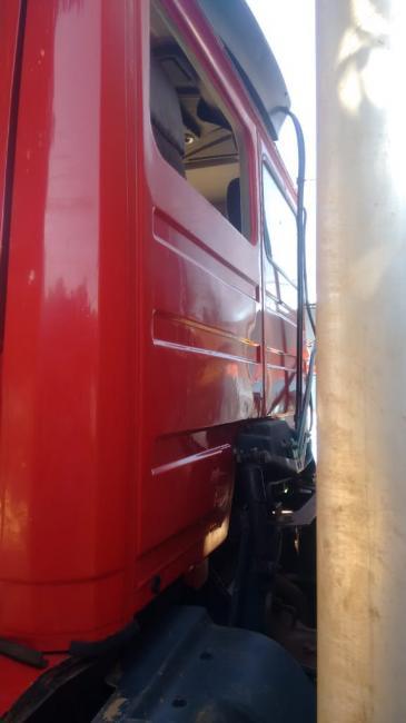 Redenção: Motorista teve caminhão arrombado na madrugada deste Domingo