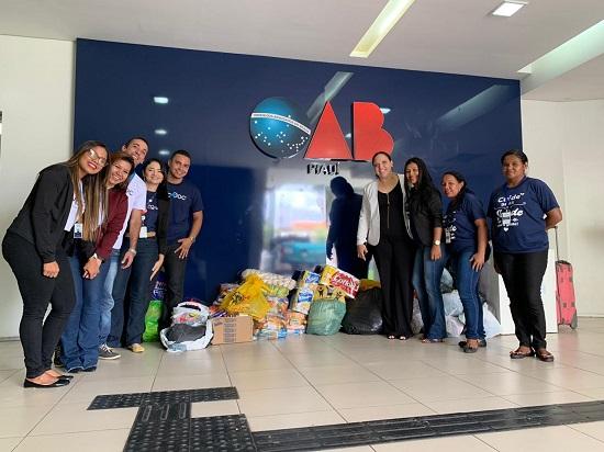 OAB-PI continua com arrecadação de alimentos à vítimas de enchentes