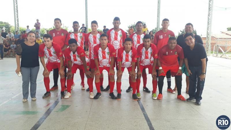 AVF | vence e garante passaporte para final Copa Cocais Futsal