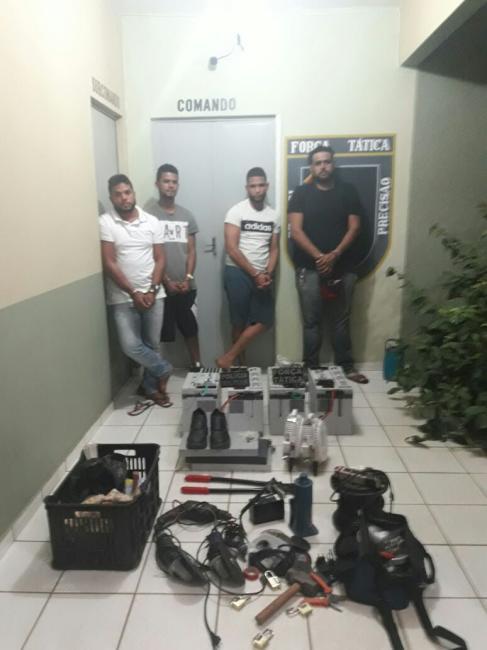 Polícia prende quadrilha responsável por apagão de telefonia no Piauí