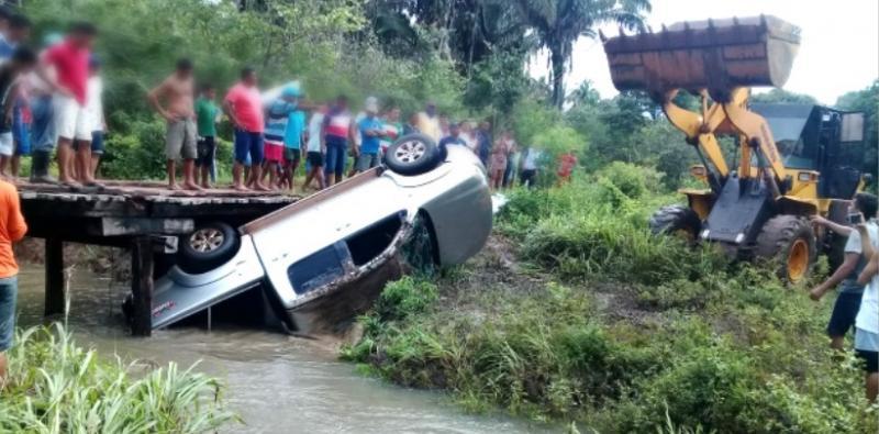 Vendedores paraibanos caem de ponte e morrem afogados no MA