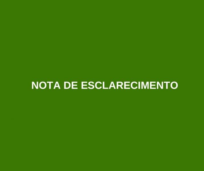 NOTA – CONCURSO PÚBLICO DE FLORIANO