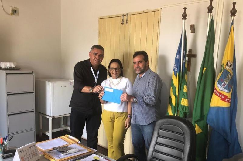 Prefeito de Oeiras concorre ao 'Prêmio Sebrae Prefeito Empreendedor'