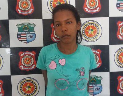 Mulher é presa em flagrante traficando drogas no MA