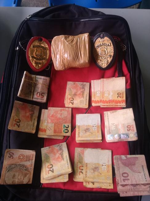 Polícia prende homem com droga na rodoviária de Piripiri