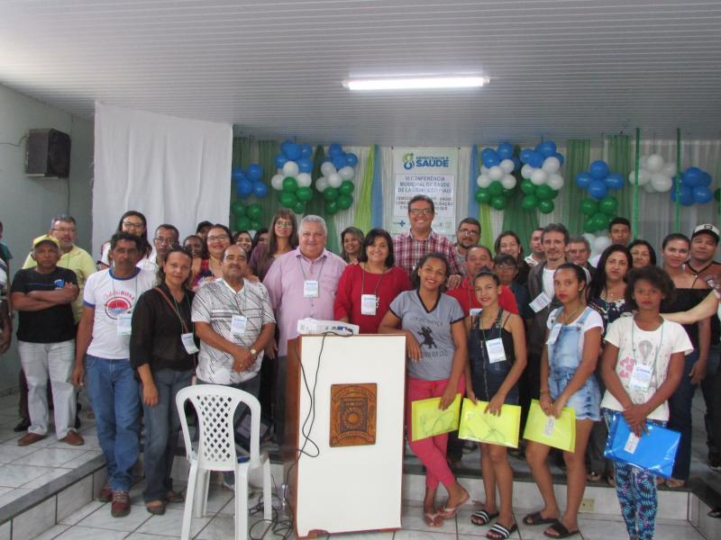 Prefeitura municipal de Lagoinha realiza VI conferencia municipal de saúde