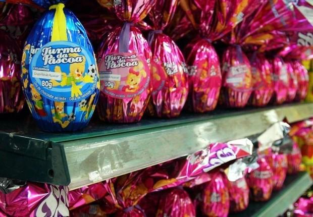 Ovos de Páscoa estão 40% mais caros do que em 2018