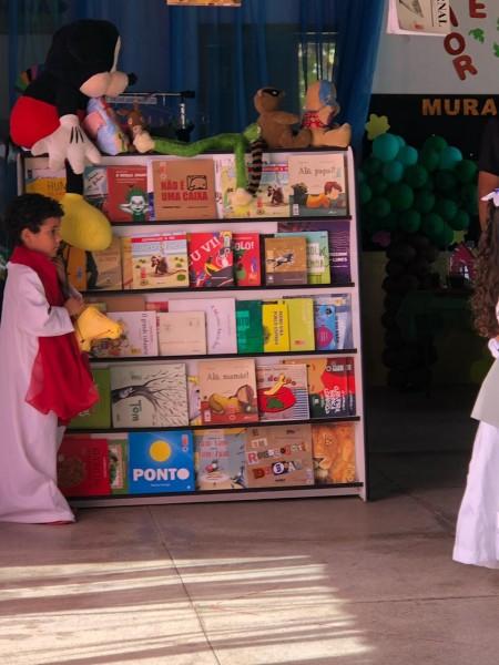 Projeto de leitura é lançado na Escola Municipal Iracema Miranda