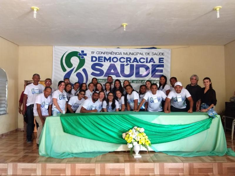 8ª Conferência Municipal de Saúde  Barra D'Alcântara realizada com sucesso