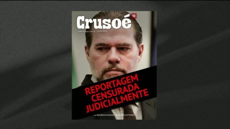'Crusoé' e 'O Antagonista' recorrem da decisão do STF que impôs censura...