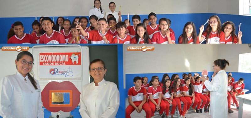 Escovação supervisionada é realizada no Centro de Educação Municipal