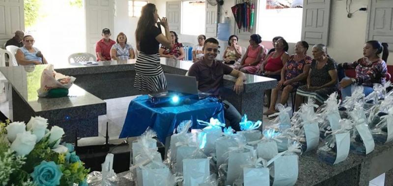 Assistência Social promove palestra para idosos do Serviço de Convivência